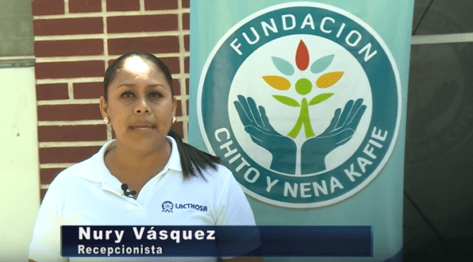 Nury Vasquez da su testimonio acerca de Lacthosa
