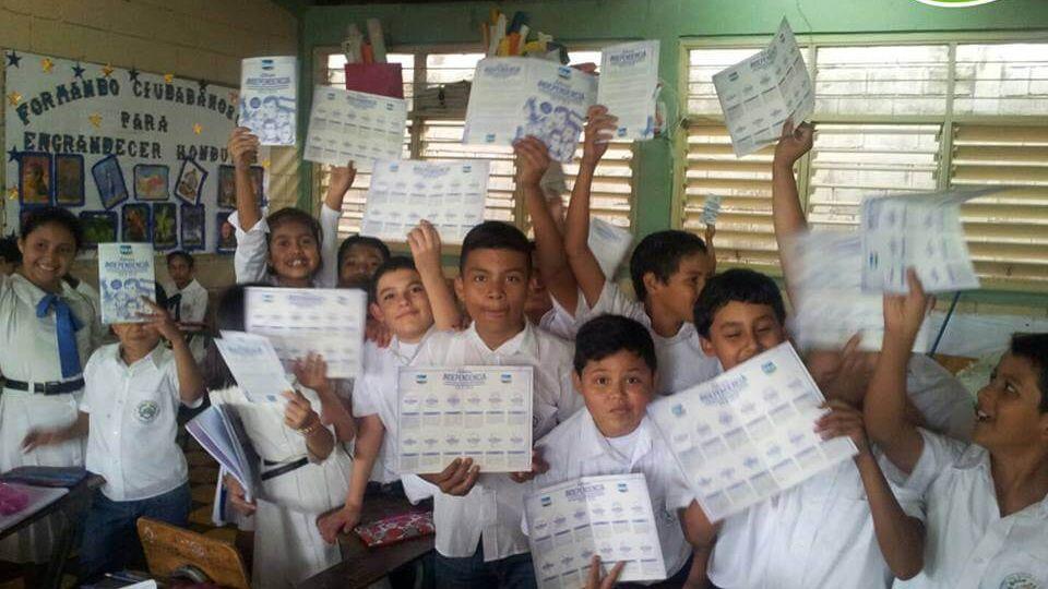 Sula Promueve Valores Cívicos En Las Escuelas Públicas