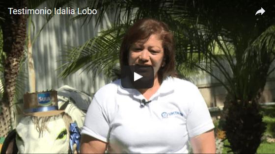 Idalia Lobo nos cuenta su experiencia al formar parte de la familia Lacthosa Sula, donde ha logrado sacar adelante a su familia y formarse como una gran profesional.