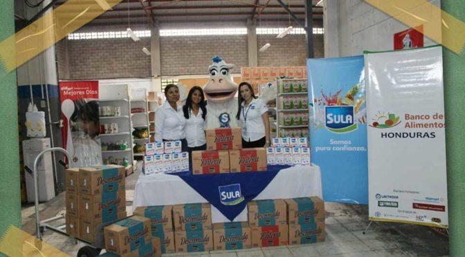 Leche Sula Presente En Las Escuelas Públicas