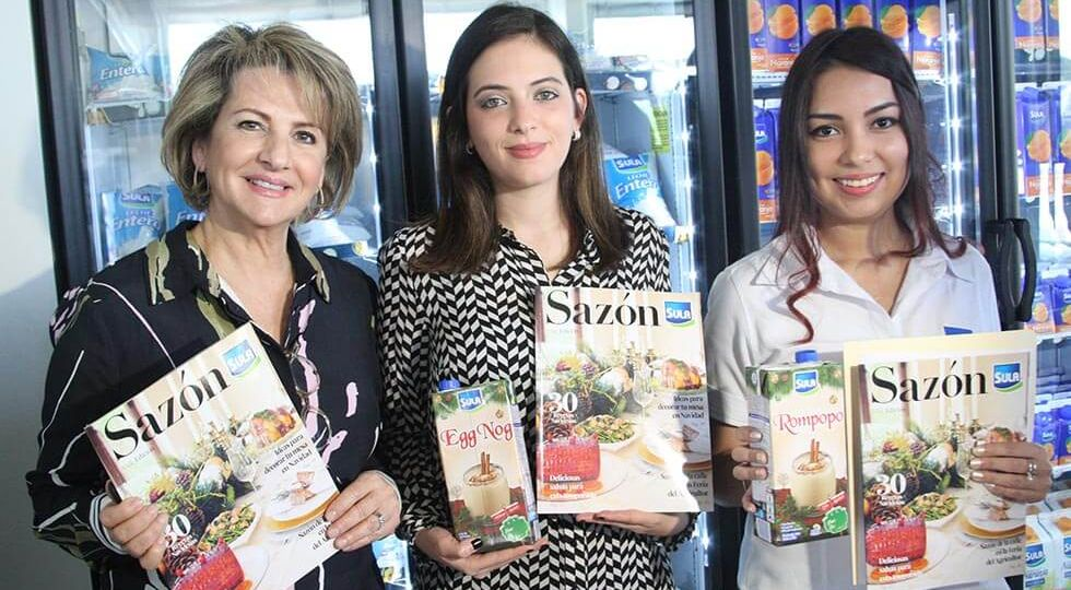 Marlene Nasser, Vivian Kafie y Stephany Rivera