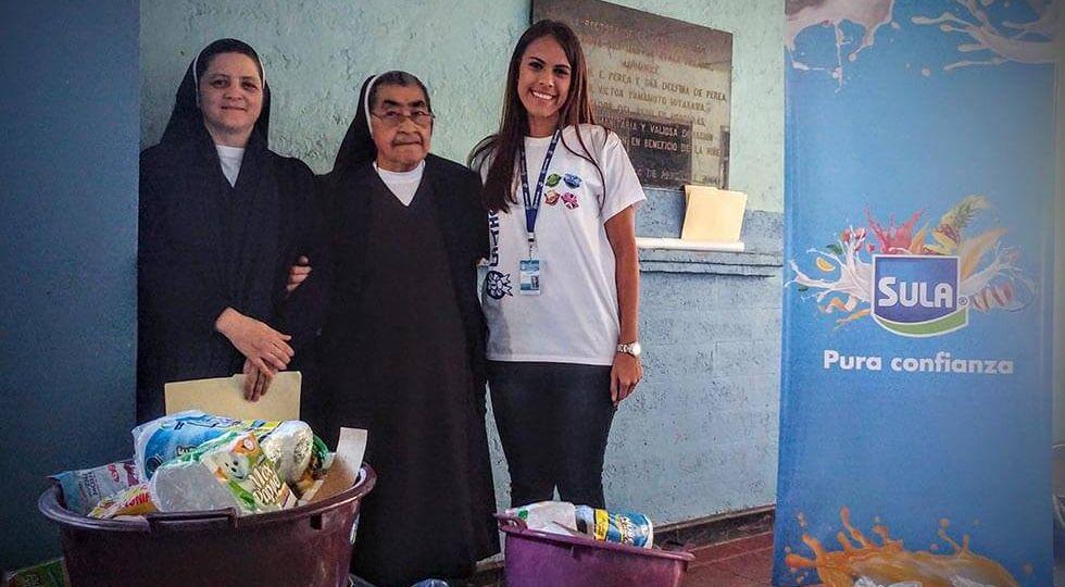 Sula realiza donativo a la Casa del Niño