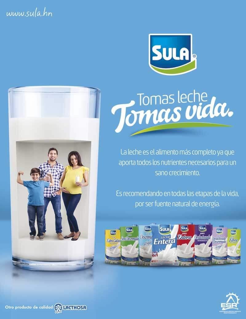 Campaña Tomas leche tomas vida