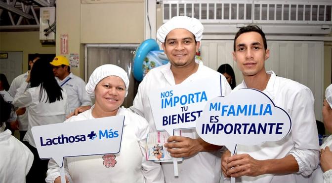 Lacthosa Más el programa de beneficios cuenta con Ceteco