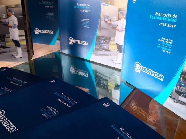 Lacthosa presenta su primera Memoria de Sostenibilidad 2016-2017