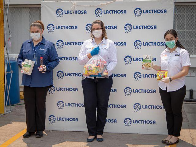 Lacthosa y Quaker unen esfuerzos para entregar 20,000 desayunos