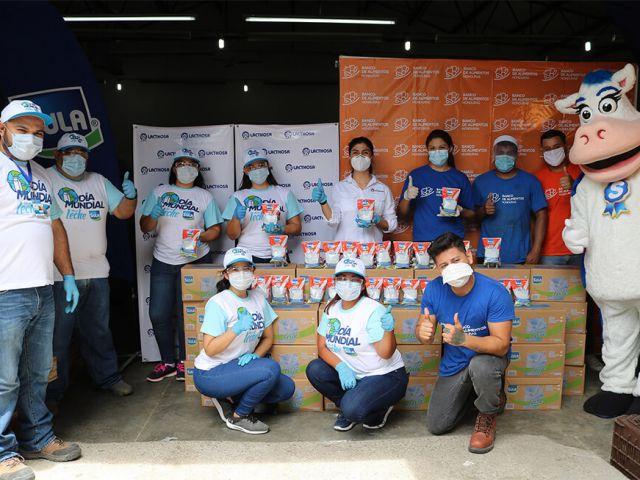 Sula, CAHLE y Tetra Pak donan 100,000 vasos de leche