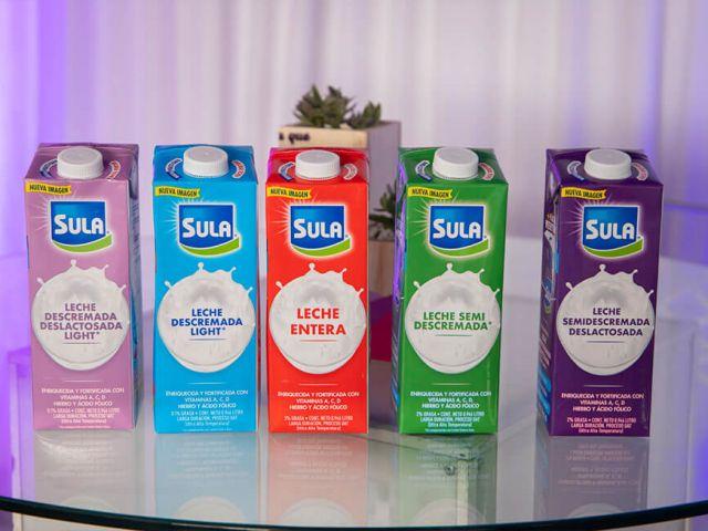 Las leches Sula se renuevan con nueva imagen y empaque