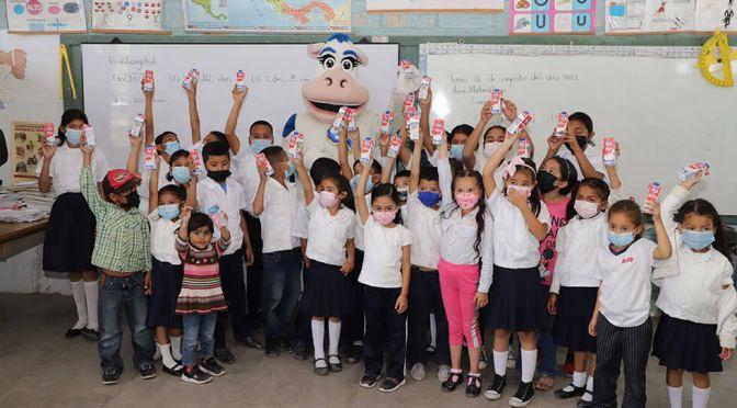Sula y Ceteco celebran el día mundial de la leche escolar