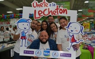 Lechetón es llevada a cabo en Honduras 2015 por Lacthosa