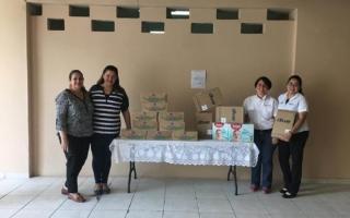 Lacthosa realiza donativo al asilo de inválidos del Hospital General San Felipe